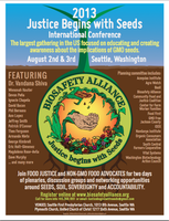 2013 Justice Begins with Seeds International Conference