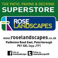Rose Landscapes - Patio, Paving & Decking Superstore logo