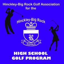 Hinckley-Big Rock Golf Association logo