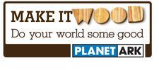 Planet Ark - Make It Wood logo