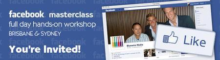[Brisbane] Facebook Masterclass 2012