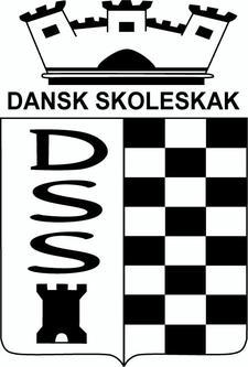 Dansk Skoleskak logo