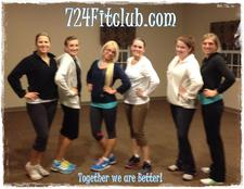 724 Fit Club  logo