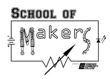 School of Makers at Edmonds Community College  logo