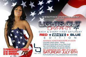 Red, White, Blue Affair 4th of July Weekend