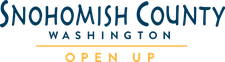 Snohomish County Sports Commission and                                                     Snohomish County Tourism Bureau logo