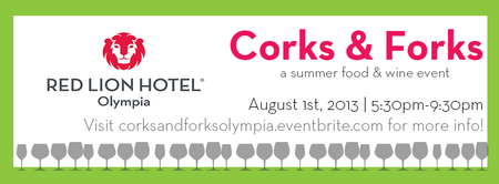 Corks & Forks | Summer Food & Wine Event