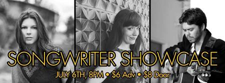 Songwriter Showcase: Jessica Campbell & Sara Beth Go, and...