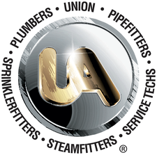 United Association, Union Plumbers, Fitters, Welders & Service Techs logo