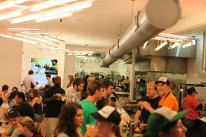 Free Sandwich Day at Clover Burlington