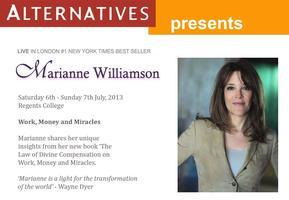 Marianne Williamson - Work, Money and Miracles!