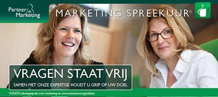 Partner in Marketing Spreekuur*