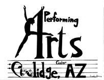Coolidge Performing Arts Center, Coolidge AZ logo
