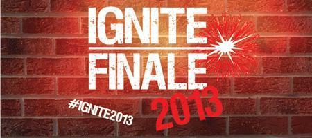 Ignite Finale 2013