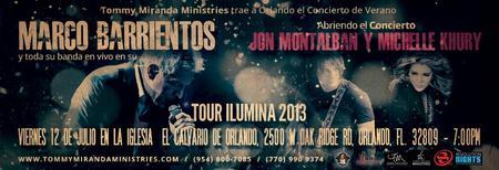 Marco Barrientos - Tour Ilumina en Orlando