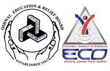 Oshwal Education & Relief Board (OERB) and Economic Council of Oshwals (ECO) logo