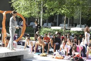 Pangea Organics & Hanuman present Yoga in the Park...