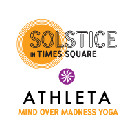 Solstice in Times Square: Athleta Mind Over Madness...
