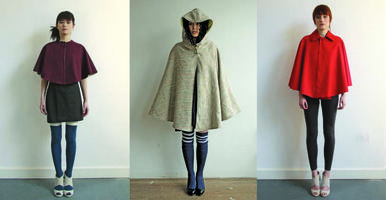 DIY Couture - make your own cloak demo
