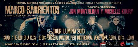 Marco Barrientos - Tour Ilumina en Tampa