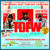#TDFW Turn Down For What Sunday Day Parties @ Indigo Bar