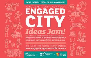 Engaged City Ideas Jam!