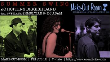 San Francisco Summer Swing: JC Hopkins Biggish Band...