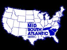 USDOT Mid South Atlantic SBTRC logo