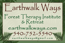 Darlene Rollins Spiritual Life Coach and Director of Earthwalk Ways Forest Therapy Institute and Retreat logo