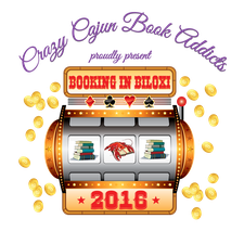 Crazy Cajun Book Addicts logo