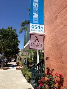 Lambda Archives San Diego logo