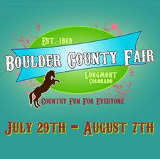 Boulder County Fair logo