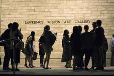 Lawrence Wilson Art Gallery logo