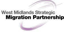 West Midlands Strategic Migration Partnership & Red Cross UK logo