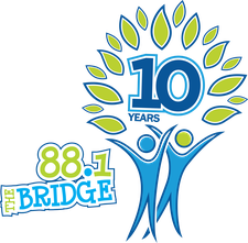 88.1 The Bridge logo