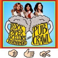 Rock Paper Scissors Tournament & Pub Crawl! Wednesdays