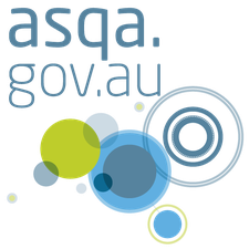 The Australian Skills Quality Authority (ASQA) logo