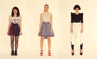 DIY Couture - make your own scater skirt