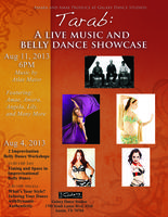 Improvisational Belly Dance Workshops and Show