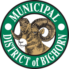 MD of Bighorn logo