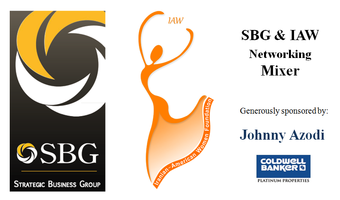 SBG and IAW Foundation Networking Mixer