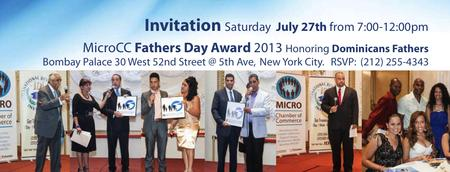 MicroCC Father's Day Award 2013 - Sponsorship