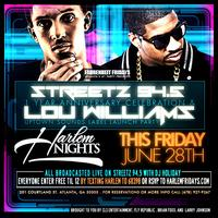 Streetz 94.5 1 year Anniversary hosted by Lou Williams