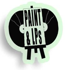 PAINT and LPs w/ Ade Adeyemi logo