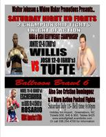 SATURDAY KO FIGHTS ' BALLROOM BRAWL 6'