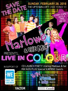 Marlowe & the MiX logo