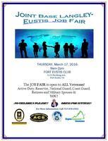 JBLE (Fort Eustis) Job Fair