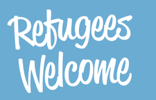 Refugees Welcome Northern Ireland logo