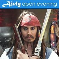 Aivly Open Evening with guest Jack Sparrow