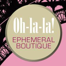 Oh la la Ephemeral Boutique logo